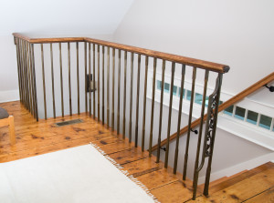 Forged Guard rail Staircase